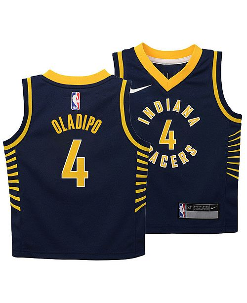 new styles 3da6e fbbf5 Victor Oladipo Indiana Pacers Icon Replica Jersey, Toddler Boys (2T-4T)