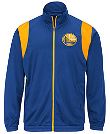 G-III Sports Men's Golden State Warriors Clutch Time Track Jacket