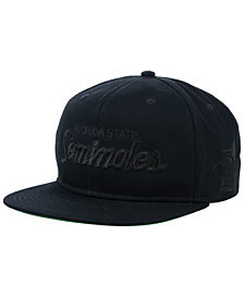 Nike Florida State Seminoles Sport Specialties Black on Black Snapback Cap