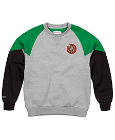 Mitchell & Ness Men's Boston Celtics Trading Block Crew Sweatshirt