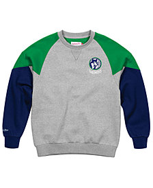 Mitchell & Ness Men's Minnesota Timberwolves Trading Block Crew Sweatshirt