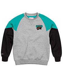 Mitchell & Ness Men's Vancouver Grizzlies Trading Block Crew Sweatshirt
