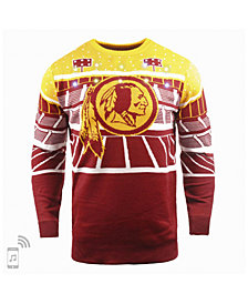 Forever Collectibles Men's Washington Redskins Bluetooth Sweater