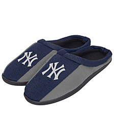 Forever Collectibles New York Yankees Knit Cup Sole Slippers