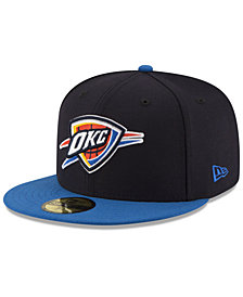 New Era Oklahoma City Thunder Basic 2 Tone 59FIFTY Fitted Cap