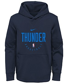 Nike Oklahoma City Thunder Spotlight Hoodie, Big Boys (8-20)