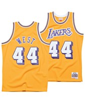 premium selection 0c8f1 00fc2 Mitchell   Ness Men s Jerry West Los Angeles Lakers Hardwood Classic  Swingman Jersey
