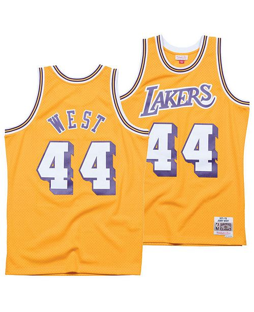 0c6d794a940 ... Mitchell   Ness Men s Jerry West Los Angeles Lakers Hardwood Classic  Swingman Jersey ...