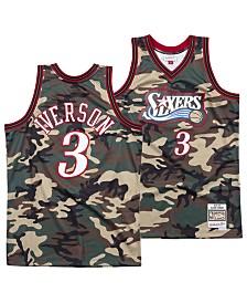 Mitchell & Ness Men's Allen Iverson Philadelphia 76ers Woodland Camo Swingman Jersey