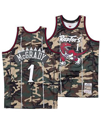 timeless design 7b2d9 b8263 Mitchell & Ness Men's Tracy McGrady Toronto Raptors Woodland Camo Swingman  Jersey & Reviews - Sports Fan Shop By Lids - Men - Macy's