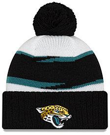 New Era Jacksonville Jaguars Thanksgiving Pom Knit Hat