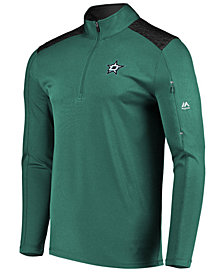 Majestic Men's Dallas Stars Ultra Streak Half-Zip Pullover
