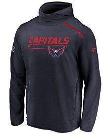 Majestic Men's Washington Capitals Rinkside Transitional Hoodie