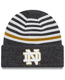 New Era Notre Dame Fighting Irish Striped Chill Knit Hat