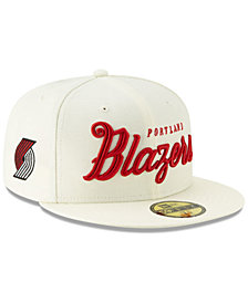 New Era Portland Trail Blazers Jersey Script 59FIFTY-FITTED Cap