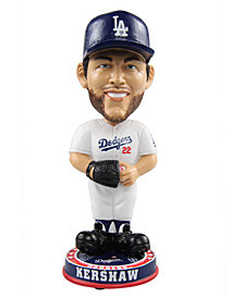 Forever Collectibles Clayton Kershaw Los Angeles Dodgers Knucklehead Bobblehead