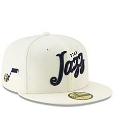 New Era Utah Jazz Jersey Script 59FIFTY-FITTED Cap