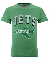 e4f353a1a56 Authentic NFL Apparel Men's New York Jets NFL Shadow Arch Retro T-shirt