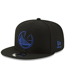 Golden State Warriors Logo Trace 9FIFTY Snapback Cap