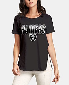 Authentic NFL Apparel Women's Oakland Raiders Short Sleeve T-Shirt