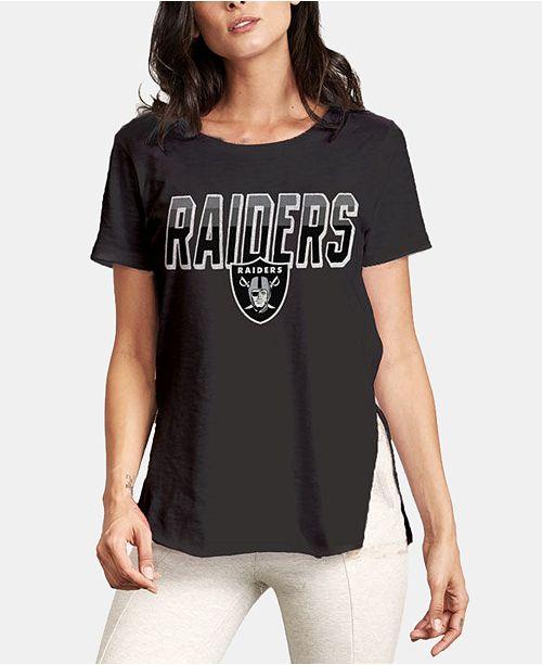 bffc4d85 Women's Oakland Raiders Short Sleeve T-Shirt