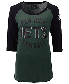 Women's New York Jets Rayon Raglan T-Shirt