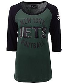 Women's New York Jets Rayon Raglan T-Shirt