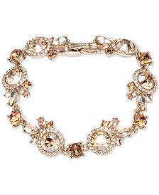 Givenchy Crystal Cluster Flex Bracelet