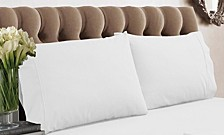 350 Thread Count Cotton Percale Standard Pillowcases