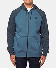 Mens Legacy Zip-Front Hooded Sweatshirt