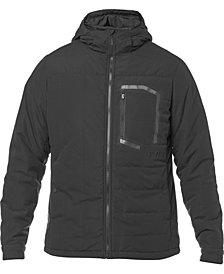 Fox Mens Zip-Front Hooded Coat
