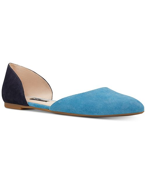 a50ad02a216 Nine West Starship Two-Piece Flats   Reviews - Flats - Shoes - Macy s