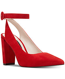 Nine West Mokosk Ankle-Strap Pumps
