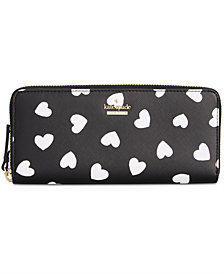 kate spade new york Cameron Street Heart Lindsey Wallet