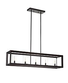 Jonathan Y Anna 5-Light LED Pendant