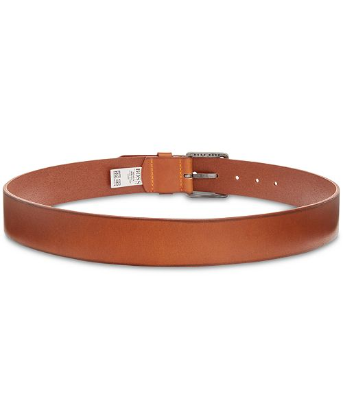 c12f0301eceb Hugo Boss Men's Jeeko Leather Belt & Reviews - All Accessories - Men ...