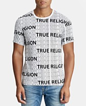 d11ec7ed7f True Religion Mens Logo Graphic T-Shirt