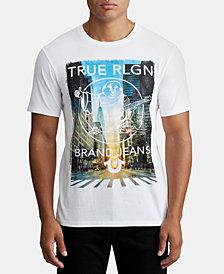 True Religion Mens City Graphic T-Shirt