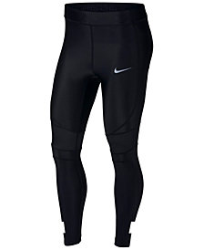 Nike Speed Colorblocked Ankle Running Leggings