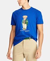Men's T Bear Lauren Fit Ralph Classic Macy's Cotton Polo For Created Shirt 0BTnER