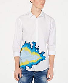 I.N.C. Men's Randle Abstract Shirt, Created for Macy's