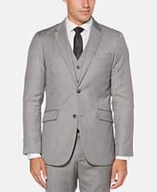 Perry Ellis Men's Slim-Fit Herringbone Suit Jacket