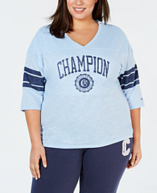 Champion Plus Size Heritage Football T-Shirt