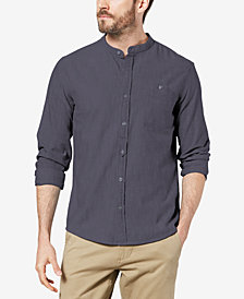 Dockers Men's Slim-Fit Band Collar Shirt