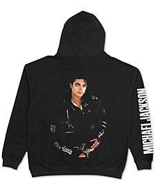 Michael Jackson Mens Bad Fleece Hoodie, Created for Macy's
