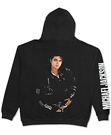 Michael Jackson Mens Bad Fleece Hoodie, Created for Macy's