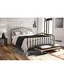 Novogratz Bushwick Full Metal Bed