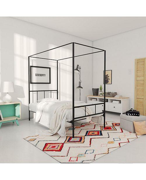 Novogratz Collection Novogratz Marion Canopy Twin Bed
