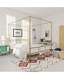 Novogratz Marion Canopy Full Bed