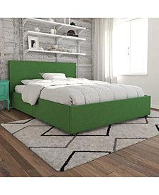 Novogratz Kelly Upholstered Full Bed with Storage